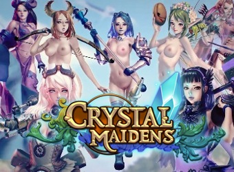 Crystal Maidens hentai mobile game with adventures