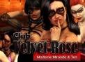 Adult browser flash game called Club Velvet Rose