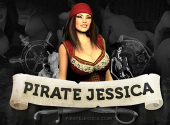 Pirate Jessica porn game review download with 3D monsters