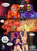 Famous fairy tales heroes fuck in adult comics