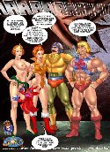 Muscled heman sex comics